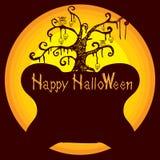 Предпосылка d хеллоуина Стоковое фото RF