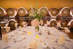 предпосылка 3d barrels модельное белое вино Стоковое Фото