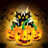Предпосылка Dard хеллоуина Стоковое Изображение RF