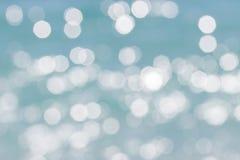 Предпосылка disfocused синью абстрактная Стоковая Фотография