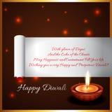 Предпосылка Diwali Стоковая Фотография
