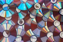 Предпосылка DVD Стоковые Фотографии RF