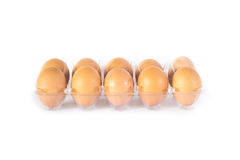 предпосылка eggs белизна Стоковое Фото