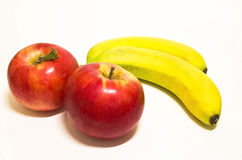 предпосылка fruits белизна Стоковые Фотографии RF