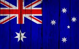 Предпосылка Grunge Австралии Стоковые Изображения