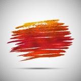 Предпосылка grunge акварели для вашего дизайна Стоковая Фотография RF