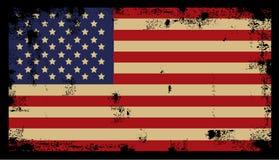 Предпосылка 2 Grunge американская Стоковое Изображение RF