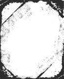 Предпосылка Grunge белая и черная стены Стоковые Фото