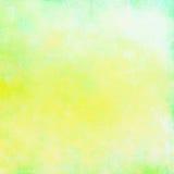 Предпосылка Grunge в желтых и зеленых цветах иллюстрация штока