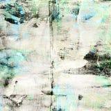Предпосылка Grunge голубая и черная коллажа Стоковые Изображения RF