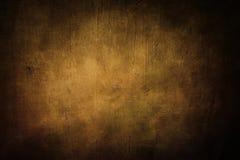 Предпосылка Grunge золотистая Стоковое Фото