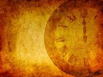 Предпосылка Grunge, концепция времени Стоковое фото RF