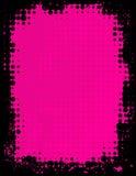 Предпосылка Grunge розовая Стоковые Фото