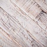 Предпосылка Grunge старая белая деревянная Стоковые Фото