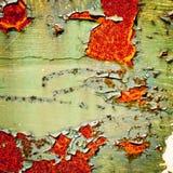 Предпосылка Grunge старая текстура краски Стоковые Фотографии RF