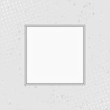 Предпосылка Grunge с рамкой белизны полутонового изображения Illustr вектора бесплатная иллюстрация