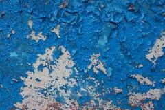 Предпосылка Grunge с старой краской шелушения Стоковые Фото