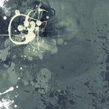 Предпосылка Grunge текстурированная искусством абстрактная цифровая Стоковые Фото