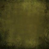 Предпосылка Grunge текстурированная оливкой иллюстрация вектора