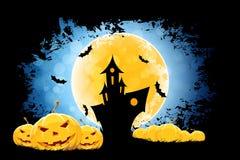 предпосылка grungy halloween Стоковое фото RF