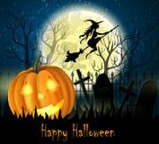 Предпосылка Halloween пугающая Стоковое фото RF