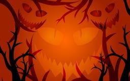 предпосылка halloween страшный иллюстрация вектора