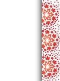 Предпосылка letterhead картины красного клена Стоковое Фото