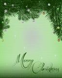 Предпосылка letterhead рождества Стоковые Фото