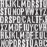 Предпосылка Letterpress безшовная Стоковое Изображение RF