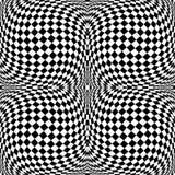 Предпосылка monochrome движения дизайна checkered иллюстрация вектора
