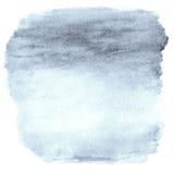 Предпосылка Ombre акварели Рамка мытья акварели верхняя абстрактная Стоковое фото RF