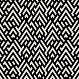 Предпосылка Op искусства безшовная геометрическая бесплатная иллюстрация