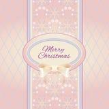 Предпосылка ornamental рождества Стоковая Фотография RF