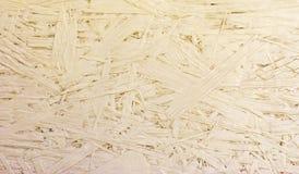 Предпосылка OSB текстурированная макулатурным картоном Стоковые Изображения RF