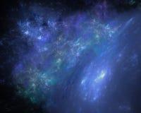 Предпосылка Premade ночного неба Стоковая Фотография