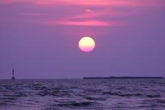 Предпосылка scape восхода солнца стоковая фотография rf