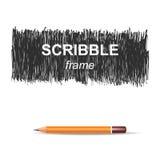 Предпосылка Scribble Стоковые Изображения RF
