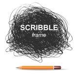 Предпосылка Scribble Стоковая Фотография