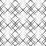 Предпосылка Seamlees Monochrome геометрическая Стоковое Фото