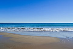 Предпосылка Seashore Стоковая Фотография