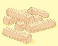 Предпосылка Shortbread Стоковое Изображение