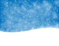 Предпосылка Snowy Стоковая Фотография