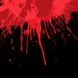 Предпосылка splatter крови Стоковое Изображение RF