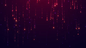 Предпосылка Starfall UHD 2160p 4K разрешение 3840x2160 Стоковые Изображения