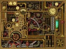Предпосылка Steampunk Стоковое фото RF