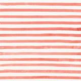 Предпосылка striped акварелью Стоковые Изображения