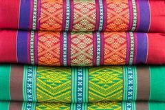 Предпосылка - striped подушки Стоковое Изображение