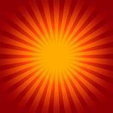 Предпосылка Sunburst Стоковые Изображения