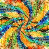 Предпосылка twirl Grunge стоковое изображение rf