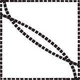 Предпосылка v геометрической угловой плитки картины рамки этнической красочная Стоковое Изображение